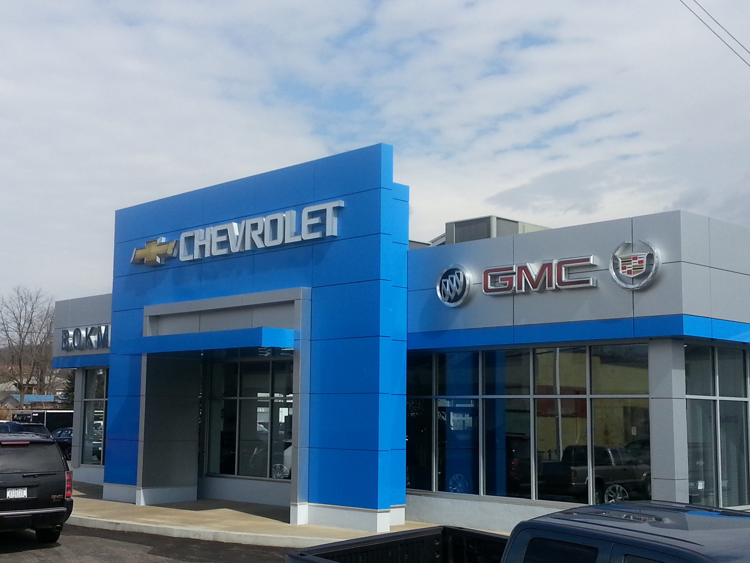 Bokman Chevrolet Buick GMC Cadillac GM Facility Renovation